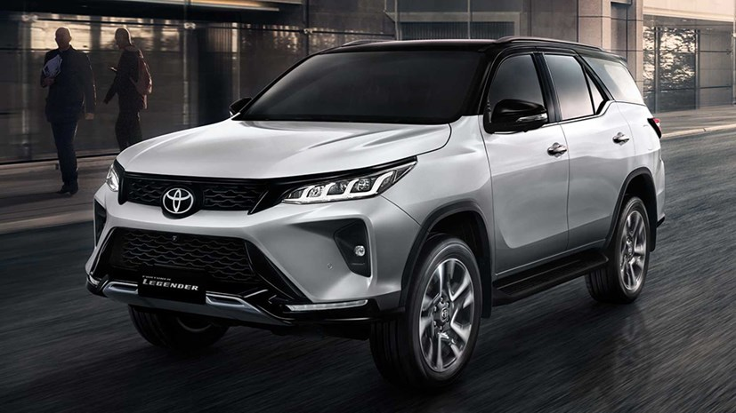 Fortuner 2.4 4x2 AT Legender Dầu - Đời 2021 | AutoMotorVN
