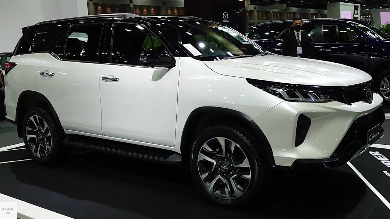 2021 Toyota Fortuner Facelift 2.8 4X4 Legender / In-Depth Walkaround  Exterior & Interior - YouTube
