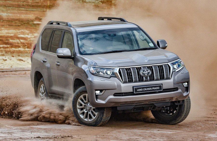 Giá lăn bánh Toyota Land Cruiser Prado 2020: Tăng thêm hàng chục triệu